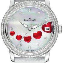 Blancpain Ladies Ultra Slim Automatic 34mm 3400-4554-58b St...
