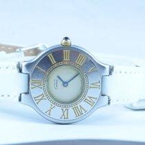 Cartier Ligne 21 Damen Uhr Stahl/gold Schöner Zustand Rar