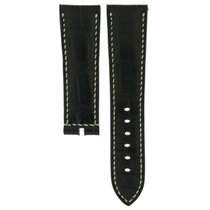 Breguet Black Crocodile Leather Strap 23mm/20mm For Marine...