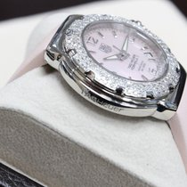 TAG Heuer Ladies Pink MOP Formula One Stainless Steel WAC1216
