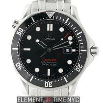 Omega Seamaster 300 M Quartz Stainless Steel 41mm Black Dial...