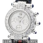 Chopard Imperiale Chronograph 18k White Gold Diamond Bezel...