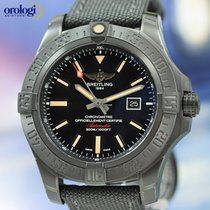 Breitling Avenger Blackbird 48mm Black Titanium Case on...