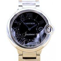 Cartier Ballon Bleu De W6920042 42mm Black Roman Stainless...