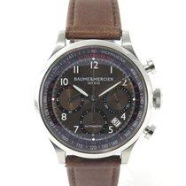 Baume & Mercier Capeland chrono M0A100002 Brown dial Full set