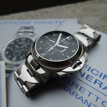 Panerai Luminor Chronograph PAM00072 with B&P from 2003