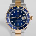 """Rolex Submariner Date """"New Old Stock"""" Gold & Steel"""