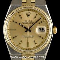 Rolex S/S & 14k Y/G Rare Automatic Datejust Vintage 1630
