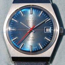 Certina Club 2000 Automatic Anni '70 Ancora Nuovo Fondo Di...