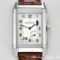 Jaeger-LeCoultre REVERSO GMT 8-TAGE GANGRESERVE STAHL 240.8.18