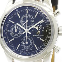 Breitling Polished Breitling Transocean Chronograph 1461 Moon...