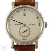 Chronoswiss Uhr Delphis Edelstahl Automatik CH 1423