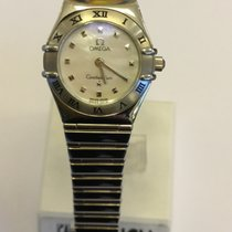 Omega Constallation Ladies steel mother of Pearl dial Quartz