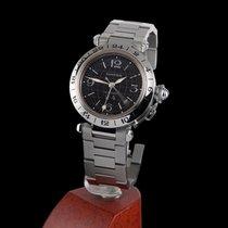 Cartier Pasha de Cartier GMT Big Date Steel Automatic