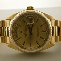 Rolex President 18038 18k Day/date 36mm Auto Watch