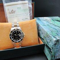 勞力士 (Rolex) SUBMARINER 16613 2-Tone Black Dial with Box and Paper