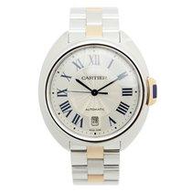 Cartier Clé De Cartier Stainless Steel Silver Automatic W2CL0002