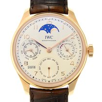IWC Portuguese 18k Rose Gold White Automatic IW503302