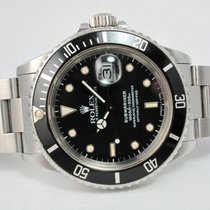 Rolex 1987 Submariner Date Automatic Stainless Steel 168000 Rare