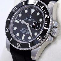 Rolex Submariner 116610 Date Ceramic Bezel Rubber B &...