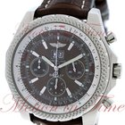 Breitling Bentley 6.75, Bronze Dial - Stainless Steel on Strap