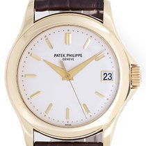 Patek Philippe Calatrava Grand Taille 18k Yellow Gold Men'...