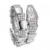 Bulgari Bvlgari Serpenti Jewellery White Gold Diamond Watch