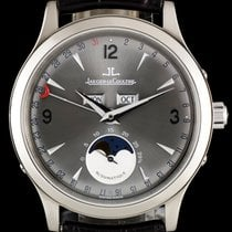 Jaeger-LeCoultre 18k W/G Master Control  Triple Date Moonphase...