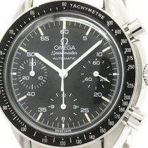 Omega Polished Omega Speedmaster Automatic Steel Mens Watch...