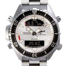Chris Benz Depthmeter Digital CB-D200-SI-MB Herrenchronograph...
