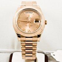 Rolex Rose Gold President Day Date II Model 218235