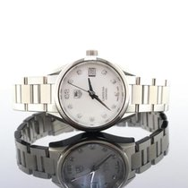 TAG Heuer Carrera Diamond MOP Dial Steel Ladies Automatic...