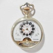 Hebdomas Antique Hebdomas pocket watch - 8 days - Cartouche...