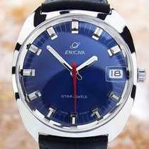 Enicar Swiss Made Mens Rare Authentic Vintage Manual Watch...