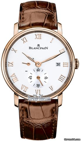 Blancpain Villeret Small Seconds Date &amp;amp; Power Reserve Mechanical