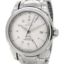 Omega De Ville Co-Axial GMT 4533.31.00, w Paper