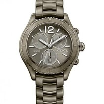 Ebel X-1 Gray PVD Steel Case and Dial, Chronograph, Date
