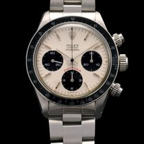 Rolex DAYTONA 6263 BIG RED CREAM DIAL BOX AND PAPERS