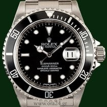 Rolex Submariner 16610  Date 40mm Serial Engraved 2008 B&P