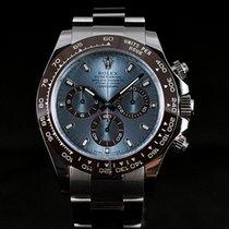Rolex Cosmograph Daytona Platinum 40mm Ice Blue Dial 116506