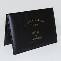 Franck Muller Master of Complications Leder Zertifikatmappe