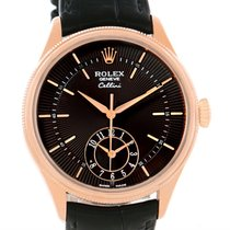 Rolex Cellini Dual Time Everose 18k Rose Gold Automatic Watch...