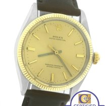 Rolex Oyster Perpetual 34mm 1005 Two-Tone 14K Yellow Gold...