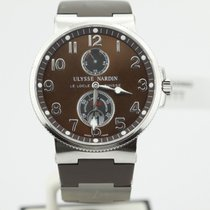 Ulysse Nardin Maxi Marine Chronometer Brown Dial 263-66 On...