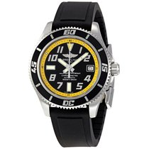 Breitling A173640 Superocean Abyss Black/Yellow Automatic