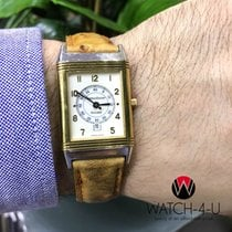 Jaeger-LeCoultre Reverso 250.5.11 18k/SS Brown Leather Strap...