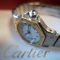 Cartier Santos Automatic with BOX, extra links Octagon 1990