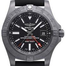 Breitling Avenger II GMT Blacksteel