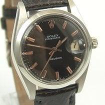 Rolex OysterDate Precision Glossy Copper Dial