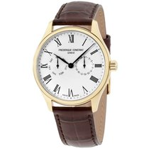 Frederique Constant Men's Classic Yellow Gold Leather...